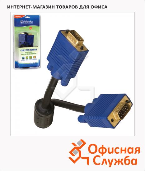 фото: Кабель мониторный Defender VGA-SVGA (m-m) 1.8 м BB340M-06PRO, 87405