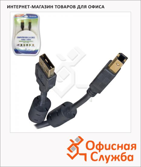 фото: Кабель USB 2.0 Defender A-B (m-m) 3 м 10PRO