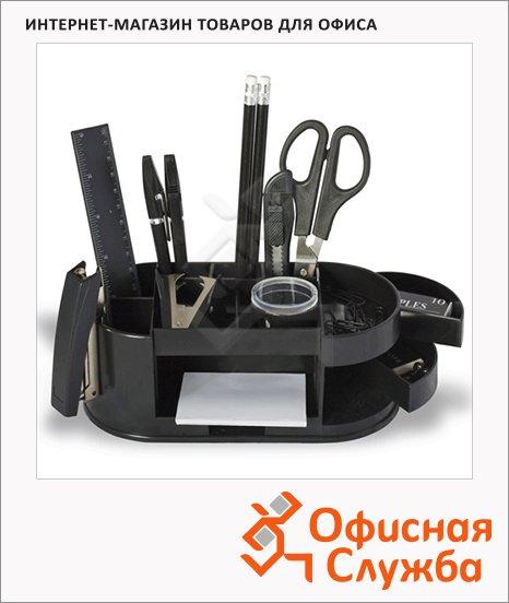 фото: Органайзер настольный Staff Омега 15 предметов черный