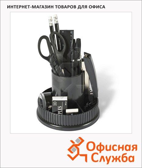 фото: Органайзер настольный Staff Раунд 12 предметов черный
