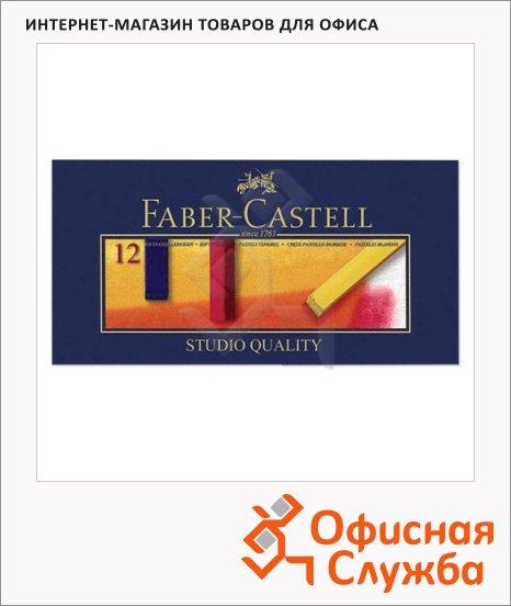 фото: Пастель художественная Faber-Castell Creative studio 12 цветов мягкая