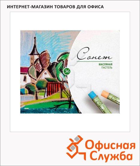 Пастель художественная Невская Палитра Сонет 36 цветов, масляная