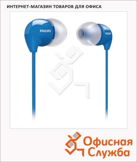 фото: Наушники-вкладыши Philips SHE3590PP/10 голубые 12 Гц-23.5 кГц