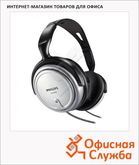 Наушники накладные Philips SHP2500/10 черно-серебристый, 9 Гц-23 кГц