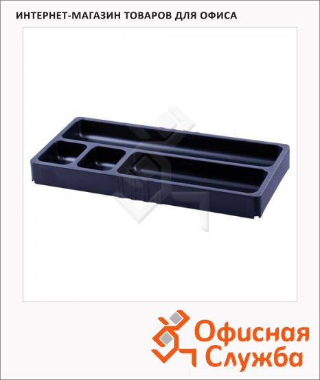 Органайзер настольный Brauberg contract 4 4 секции, черный, 230979