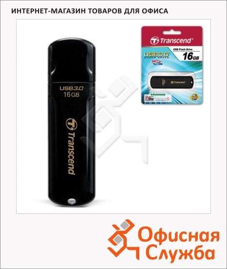 Флеш-накопитель Transcend JetFlash 700 16Gb, 70/20 мб/с, черный