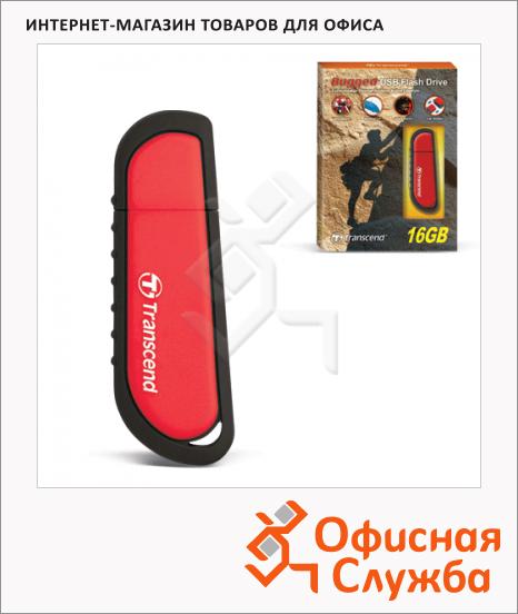 Флеш-накопитель Transcend JetFlash V70 16Gb, 18/8 мб/с, красный