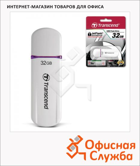 Флеш-накопитель Transcend UltraSpeed JetFlash 620 32Gb, 32/18 мб/с, бело-фиолетовый