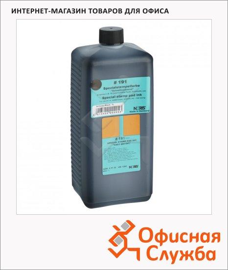 Штемпельная краска на спиртовой основе Noris 1 л, универсальная, черная