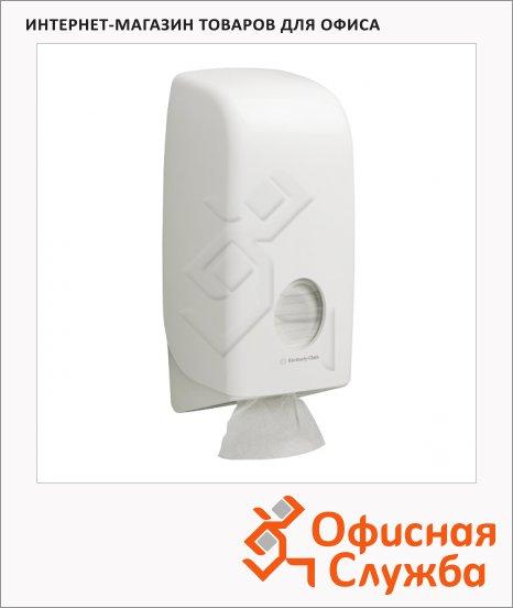фото: Диспенсер для туалетной бумаги листовой Kimberly-Clark Aquarius 6946 белый