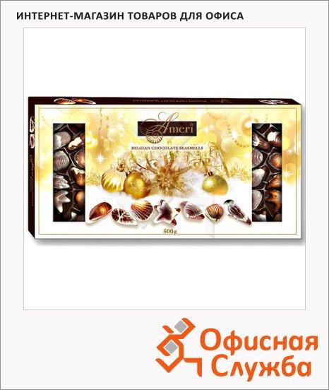 фото: Конфеты Ameri ракушки молочный шоколад с пралине 500г