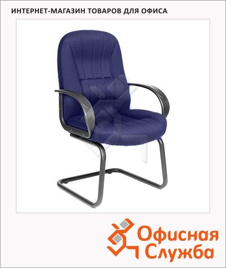 фото: Кресло посетителя 685 V ткань синяя