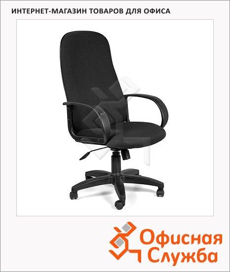 Кресло руководителя Chairman 279 ткань, C, крестовина пластик, черная