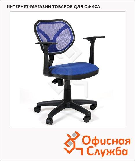 Кресло офисное Chairman 450 ткань, TW, крестовина пластик, NEW, синяя