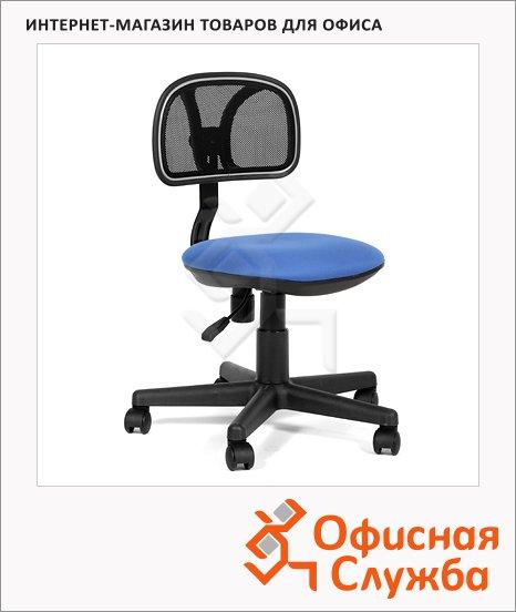 Кресло офисное Chairman 250 ткань, крестовина хром, синяя
