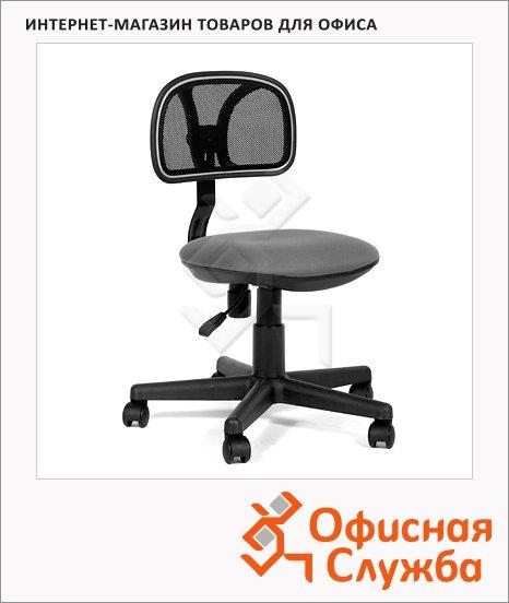 фото: Кресло офисное 250 ткань крестовина хром, серая