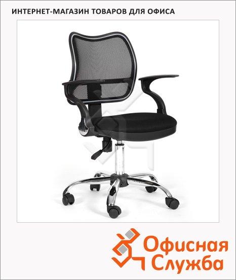 Кресло офисное Chairman 450 ткань, TW, крестовина хром, черная