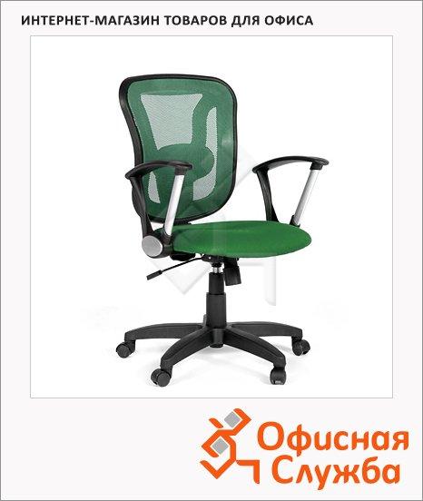 Кресло офисное Chairman 452 ткань, TW, крестовина пластик, зеленая