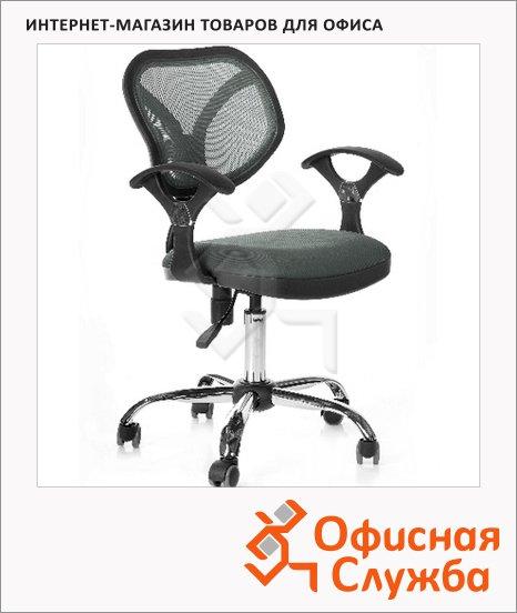 Кресло офисное Chairman 380 ткань, TW, крестовина хром, серая