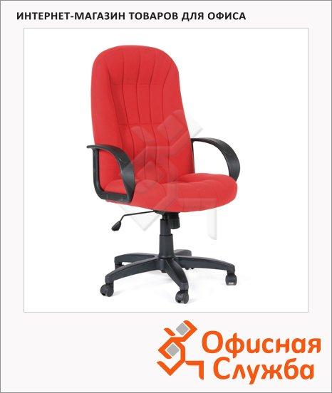 фото: Кресло руководителя Chairman 685 ткань крестовина пластик, красная