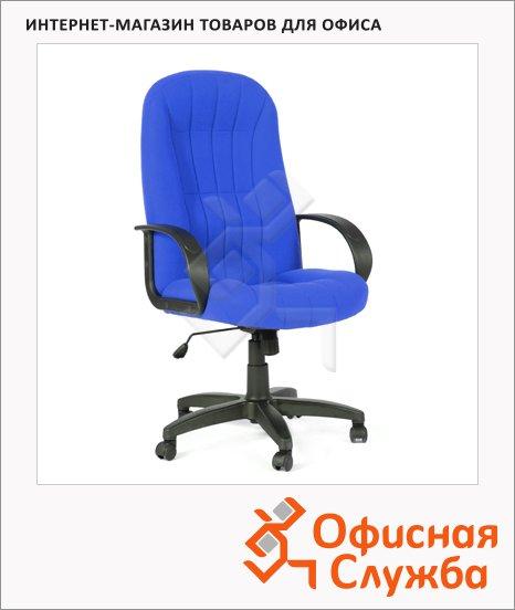 Кресло руководителя Chairman 685 ткань, крестовина пластик, синяя, TW