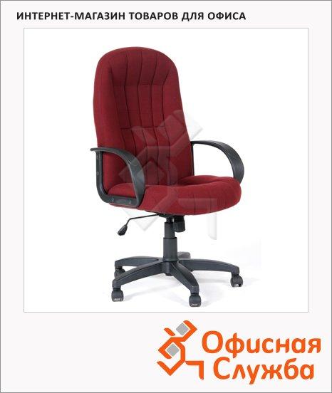 фото: Кресло руководителя Chairman 685 ткань крестовина пластик, бордовая, TW