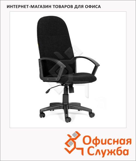 Кресло руководителя Chairman 289 NEW ткань, крестовина пластик, черная