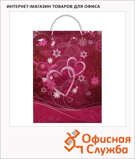 Пакет подарочный романтика 24.5х8.5х34см, DFR/599204