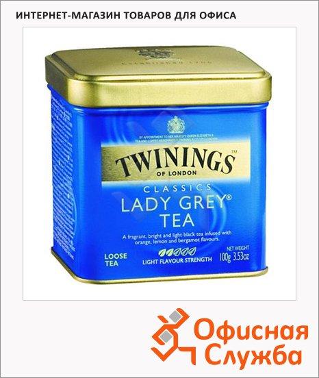 фото: Чай Twinings Lady Grey черный, листовой, 100 г