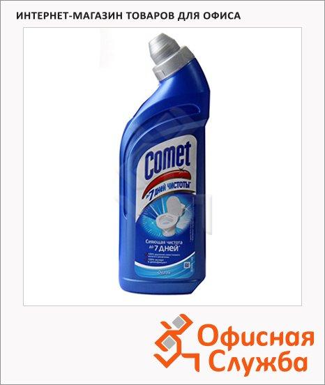 Чистящее средство Comet 7 дней чистоты 0.75л, океан, гель