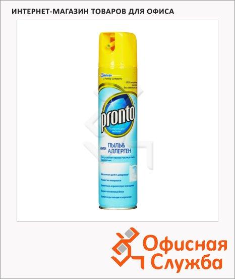 Полироль для мебели Pronto Антипыль Антиаллерген 0.25л, аэрозоль