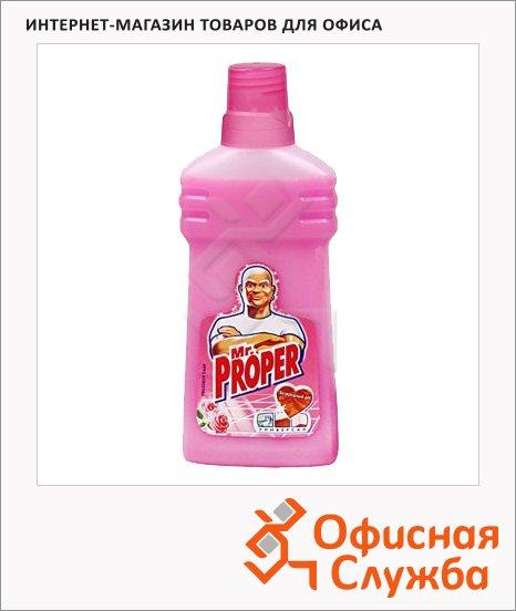 Средство для мытья пола и стен Mr. Proper 0.5л, жидкость, роза