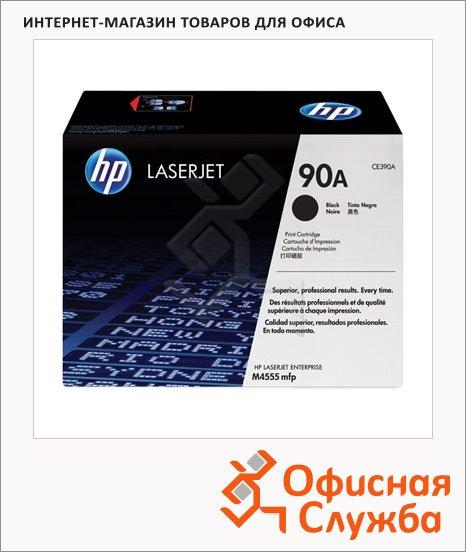 Тонер-картридж Hp CE390A, черный