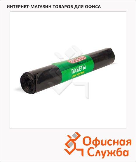 Мешки для мусора Attache 240л, черные, 50мкм, 10шт/уп