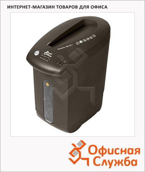 Шредер Profioffice Piranha 108CC, уровень секретности 3, 8 листов, 19 литров