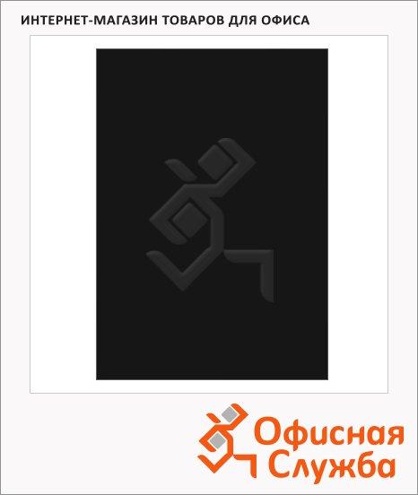 фото: Обложки для переплета пластиковые Profioffice черные А4, 280 мкм, 100шт, 39002