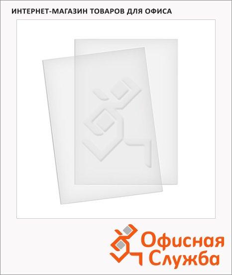 фото: Обложки для переплета пластиковые Profioffice прозрачные А4, 200 мкм, 100шт, 59020