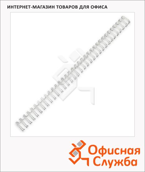 Пружины для переплета металлические Profioffice 70927 70921, на 10-50 листов, 8мм, 100шт, белые