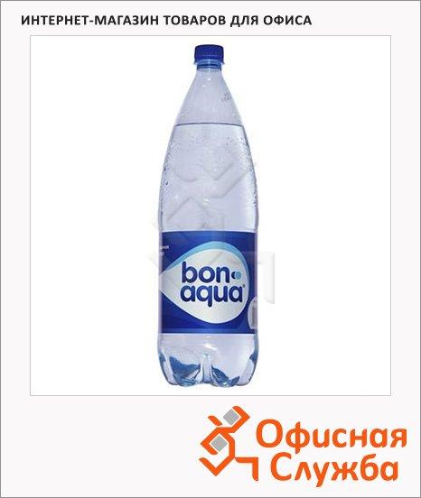 Вода питьевая Bon Aqua газ, ПЭТ, 2л