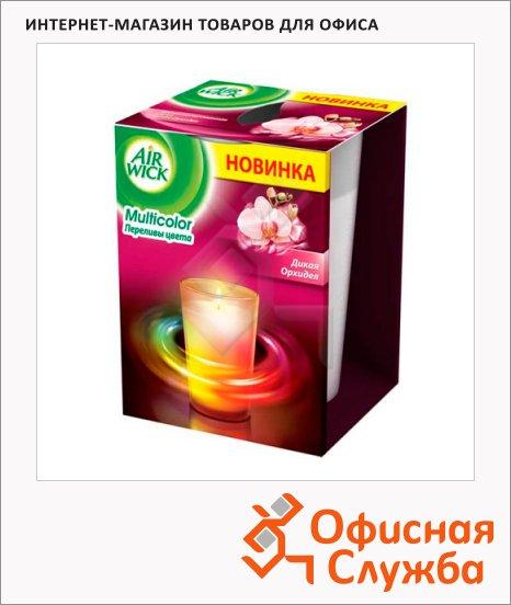 Аромасвеча Air Wick Multicolor Дикая Орхидея, 155г