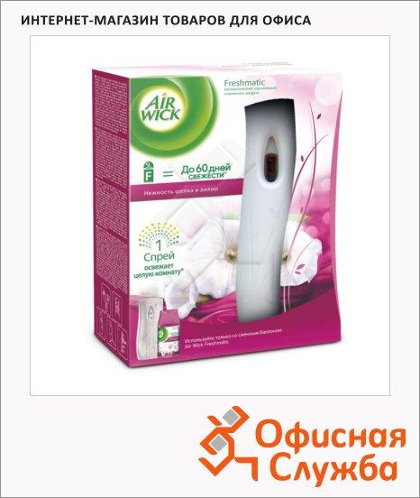 Диспенсер автоматический для освежителя воздуха Air Wick Freshmatic нежность шелка и лилии, 250мл