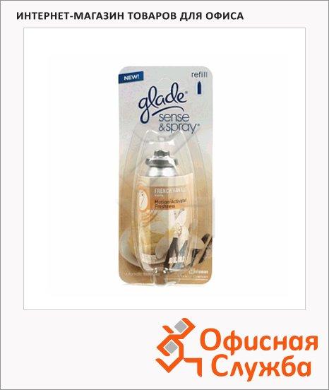Запасной картридж для освежителя воздуха Glade Sense&Spray ваниль, 18мл