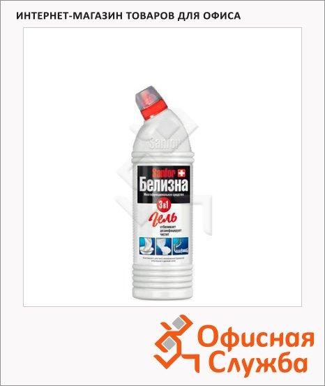 Универсальное чистящее средство Sanfor 3в1 700мл, белизна, гель