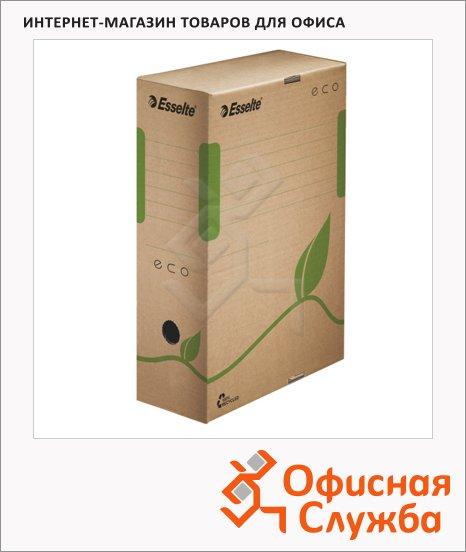 Архивный бокс Esselte Eco коричневый, 100 мм, 623917