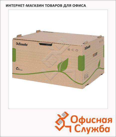 Архивный короб Esselte Eco коричневый, 340х259х439 мм, 623919
