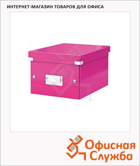 Архивный короб Leitz Click & Store-Wow розовый, A5, 220x160x282 мм, 60430023
