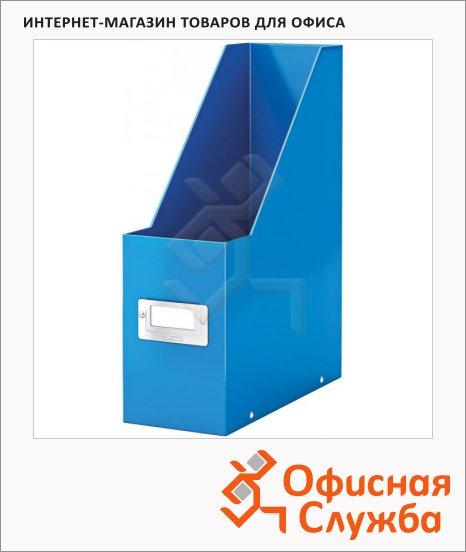 фото: Накопитель вертикальный для бумаг Click&Store Wow А4 103мм, синий, 60470036