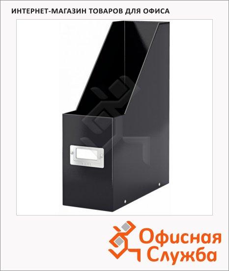 фото: Накопитель вертикальный для бумаг Click&Store Wow А4 103мм, черный, 60470095