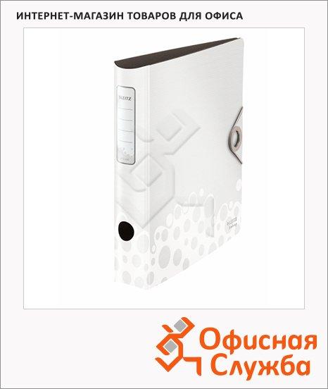 фото: Папка-регистратор А4 Leitz 180° Active Bebop белая 50 мм, 10480001