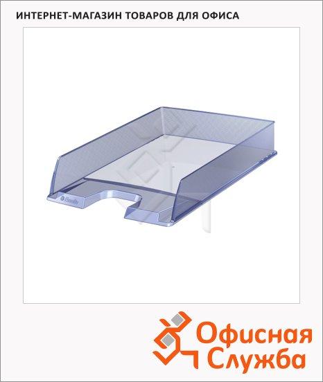 Лоток горизонтальный для бумаг Esselte Europost А4, голубой, 623599